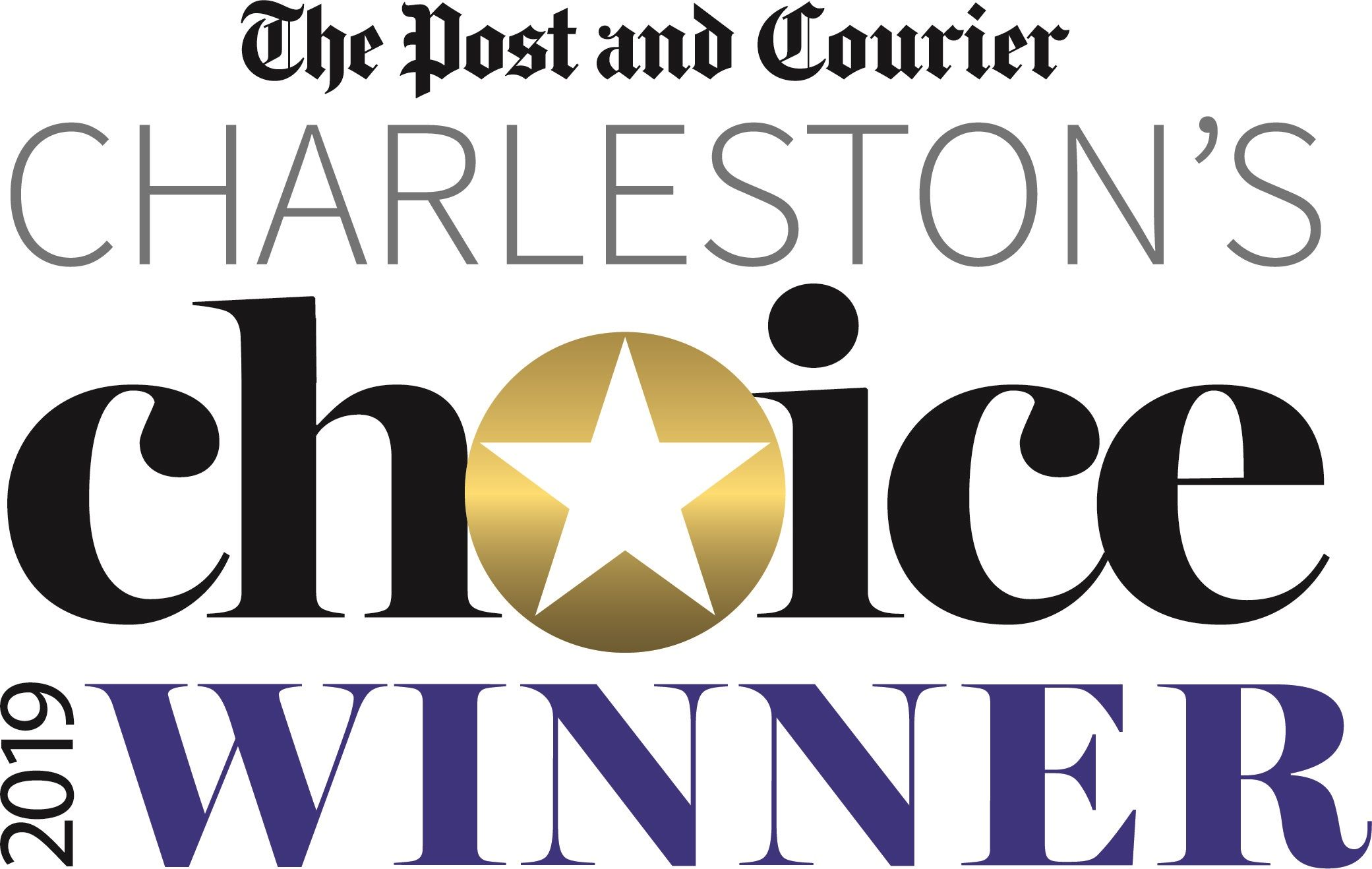 Post & Courier 2019 Charleston Choice Winner